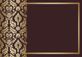 Background floral vintage vector — Stock Vector