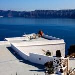 Santorini island  — Stockfoto #34484461
