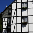 Half-timbered German house  — Foto Stock