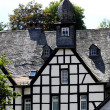 Half-timbered German house — Stock Photo