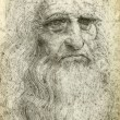 Leonardo dVinci Self-Portrait, 1512 — Stock Photo #26742689