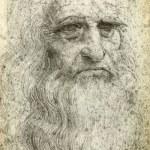 Leonardo da Vinci Self-Portrait, 1512 — Stock Photo #26742689