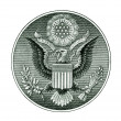 Great Seal of the United States with clipping path — Stock Photo
