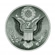 Stock Photo: Great Seal of the United States with clipping path
