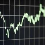 Stock chart — Stock Photo #26743671