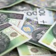Foto Stock: Polish money