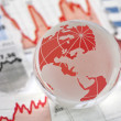 Global financial crisis — Stock Photo