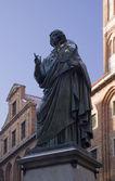 Statue of Nicolas Copernicus — Stock Photo