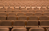Seats in a theater — Stock Photo