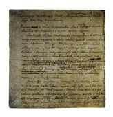 Old letter from 1811 — Stock Photo