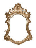 Ornate vintage frame with clipping path — Stock Photo