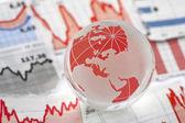 Global financial crisis — Stock Photo