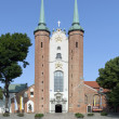 Basilica of The Holy Trinity in Gdansk Oliwa, Poland — Stock Photo