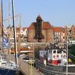 Marinin city of Gdansk, Poland — Stock Photo #28583947