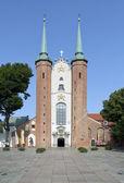 Basílica de la santísima trinidad en gdansk oliwa, polonia — Foto de Stock