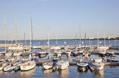 Marina in Sopot, Poland — Stock Photo