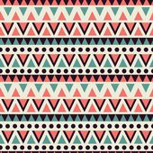 Vector pattern with geometric shapes. Tribal vector pattern. — Stock Vector