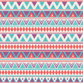 Pattern with geometric shapes. Tribal vector pattern. — Stock Vector