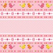 Set pink ribbon. — Vector de stock