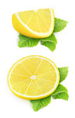Pieces of lemon — Stock Photo