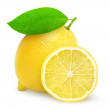 Fresh lemon — Stock Photo #20312387