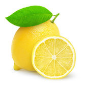 Färsk citron — Stockfoto