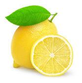 鲜柠檬 — 图库照片