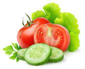 čerstvá zeleninaβυσσινί μπερέ 1 — Stock fotografie
