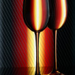 Two glasses — Stock Photo