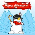 Snowmen — Stock Vector #4742350