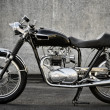 Cafe Racer motorcycle - Foto Stock