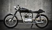 Café racer motorfiets — Stockfoto