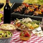 BBQ picnic — Stock Photo #2108099