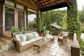 Prachtige veranda — Stockfoto