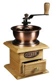 Wooden coffee grinder — Stock Photo