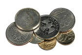 Small coins — Stock Photo