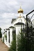 Kościół prawosławny — Zdjęcie stockowe