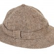 Houndstooth Pith Hat — Stock Photo