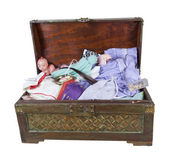 Family Keepsake Trunk — Stock Photo