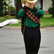 Performer Playing Marching Tuba — Stock Photo #2192942