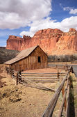 Gifford Farm Barn at Capitol Reef National Park — Stock Photo