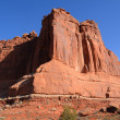 Courthouse Towers in Arches National Park — Stock Photo