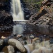 Stock Photo: Waterfall and River Rocks