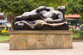 Botero statue — Stock Photo