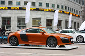 Audi car show — Stock Photo