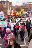 Tottenham march — Stock Photo