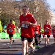 Boys run in the london marathon. — Foto Stock