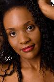 Portrait of a beautiful african american woman — Stock fotografie