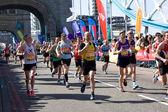 Londra maratonu 2014 — Stok fotoğraf