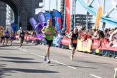ロンドン マラソン 2014 — ストック写真